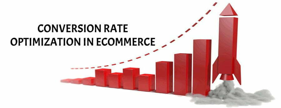 Increase e- commerce rate with conversion rate optimization