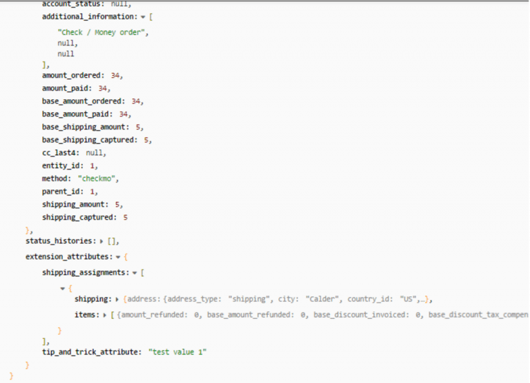 How to get value of custom attribute on Magento 2 Rest API